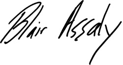 Blair Assaly signature