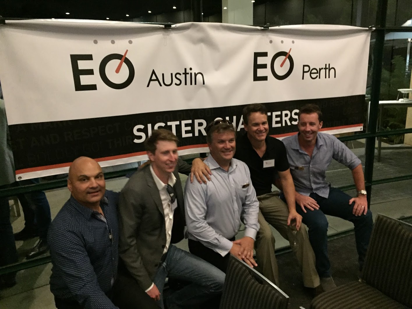 about eo chapters sister chapters entrepreneurs organization austin and perth got their start around glc 2015 since then they ve done a number of activities together including an impressive seven day event in